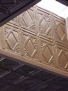 pattern 207 all colors 2x4 faux tin ceiling tile pattern - Faux Tin Ceiling Tiles