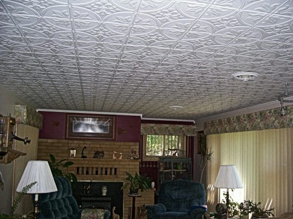 Pattern 309 All Colors 2 X4 Faux Tin Ceiling Tile