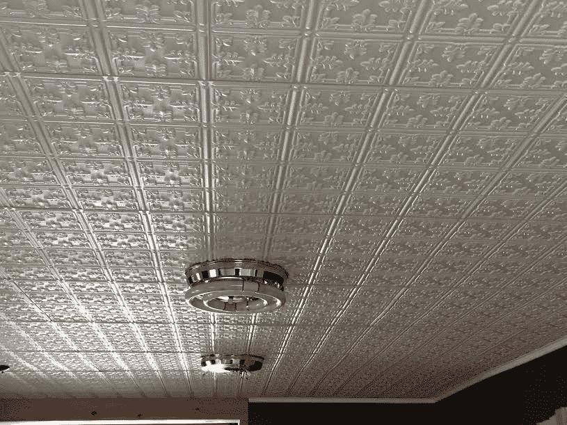 Faux Tin Ceiling Tile Pattern