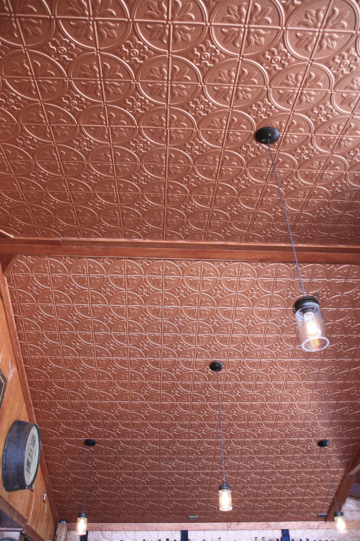 Pattern 309 All Colors 2x4 Faux Tin Ceiling Tile Pattern
